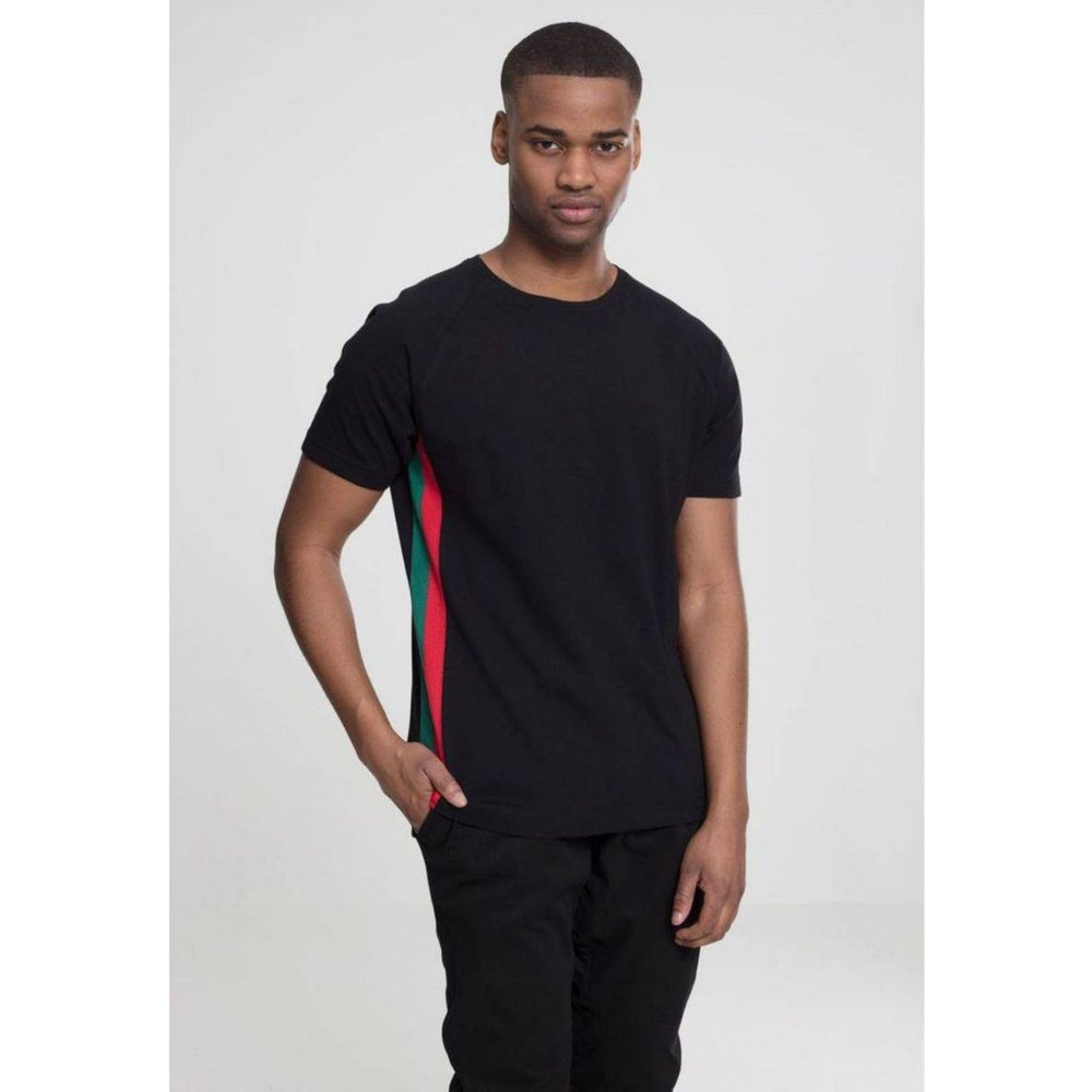 T-shirt raglan avec bandes latérales - URBAN CLASSICS - Modalova