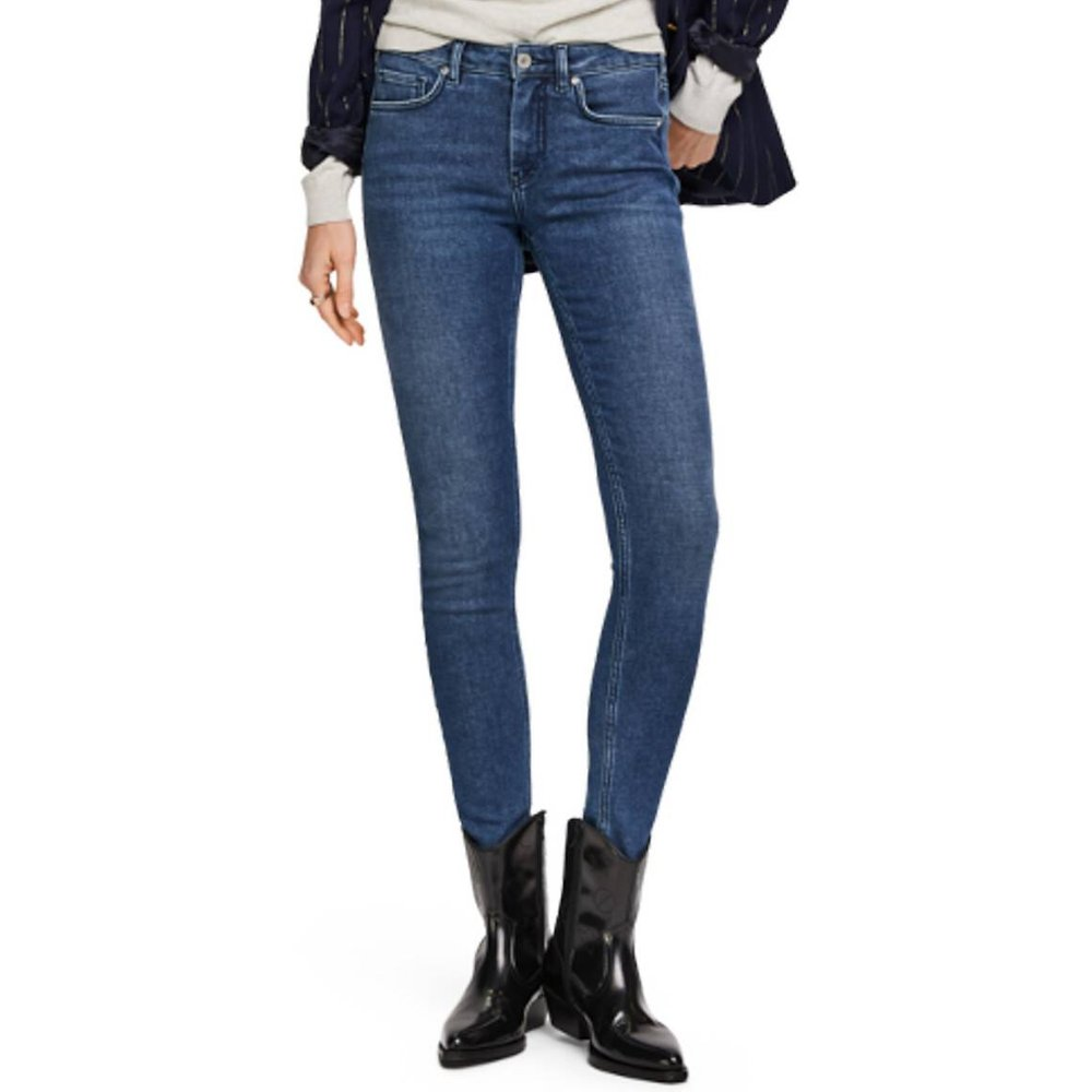 Jean slim LA BOHEMIENNE long. 32 - SCOTCH AND SODA - Modalova