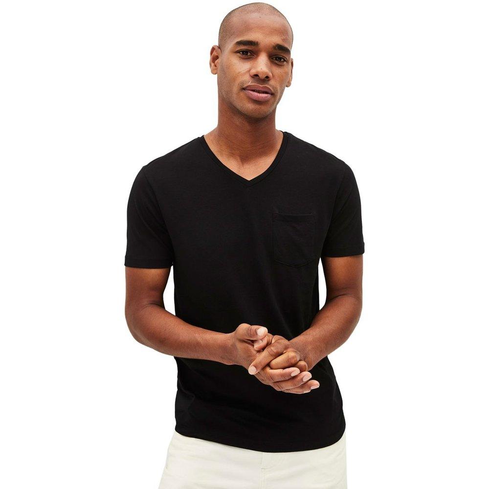 T-shirt col V à poche PEBASIC - Celio - Modalova