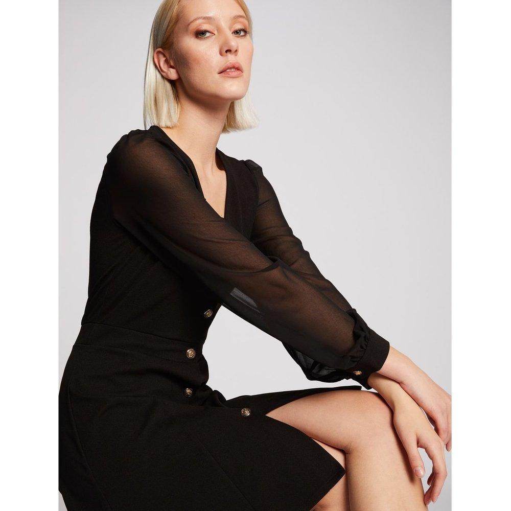 Robe trapèze boutonnée - Morgan - Modalova