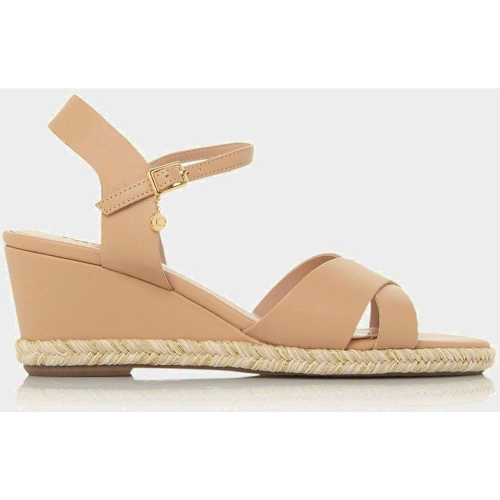 Sandales à talons compensés style espadrilles - KIWI XX - DUNE LONDON - Modalova