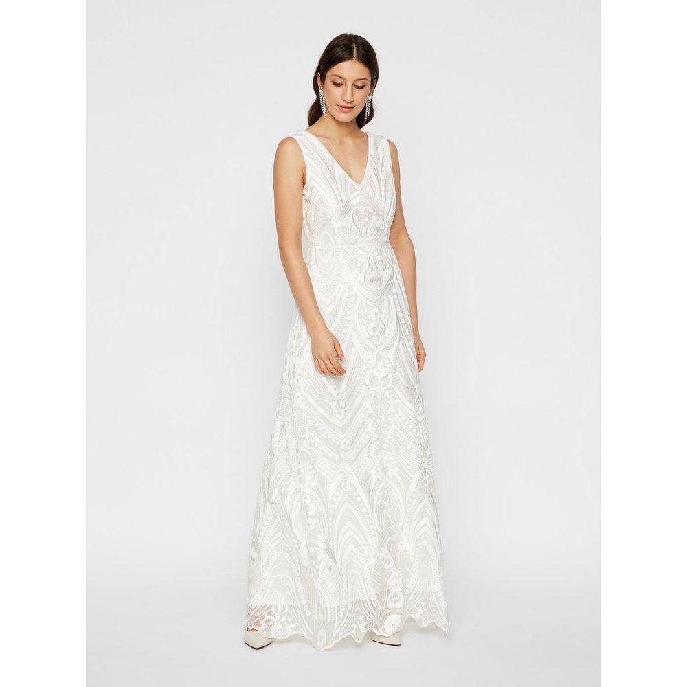 Robe de mariée Sequins cousus à la main - YAS - Modalova