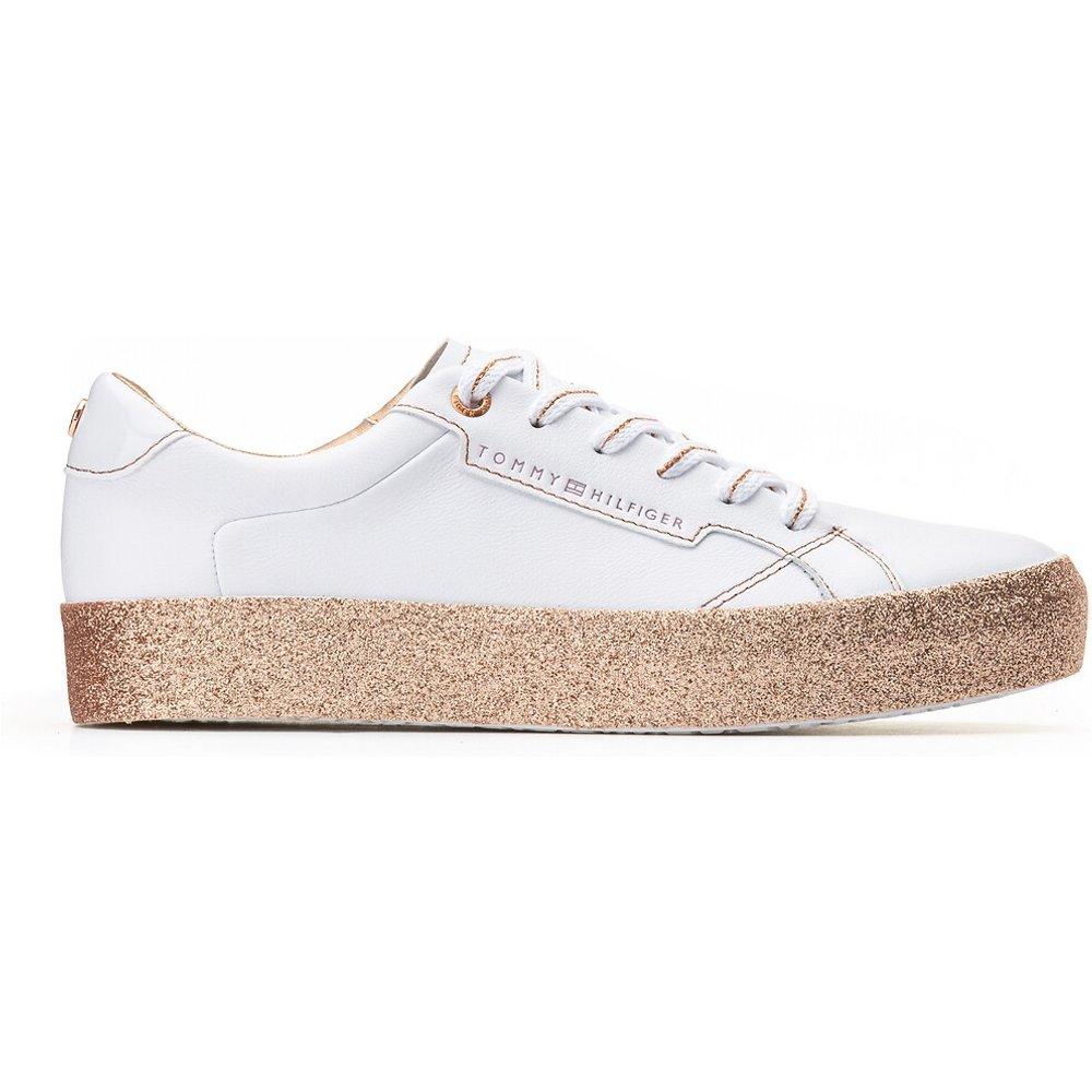 Baskets glitter foxing dress sneaker - Tommy Hilfiger - Modalova