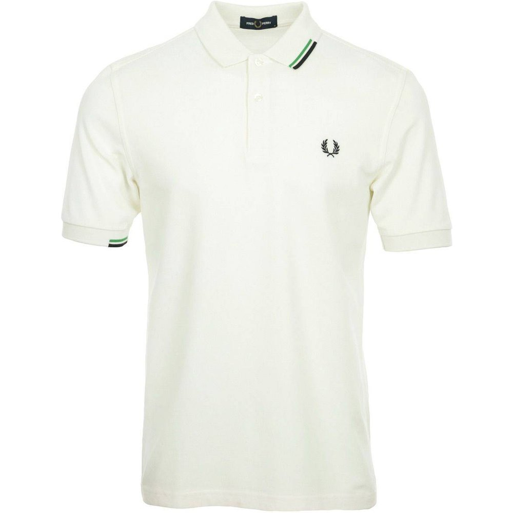 Polo Asymmetric Tipped Polo Shirt - Fred Perry - Modalova