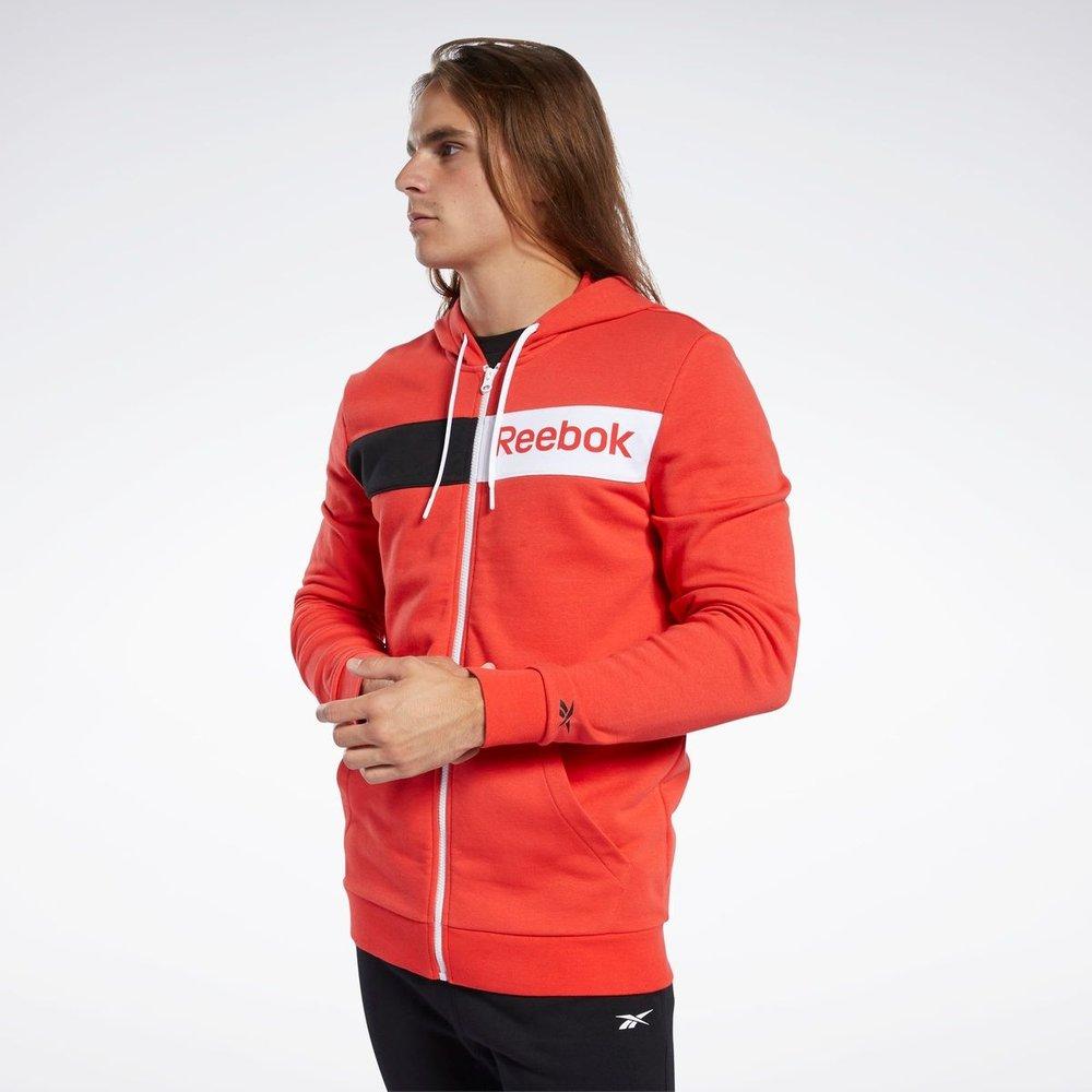 Sweat à capuche avec logo linéaire Training Essentials - REEBOK SPORT - Modalova