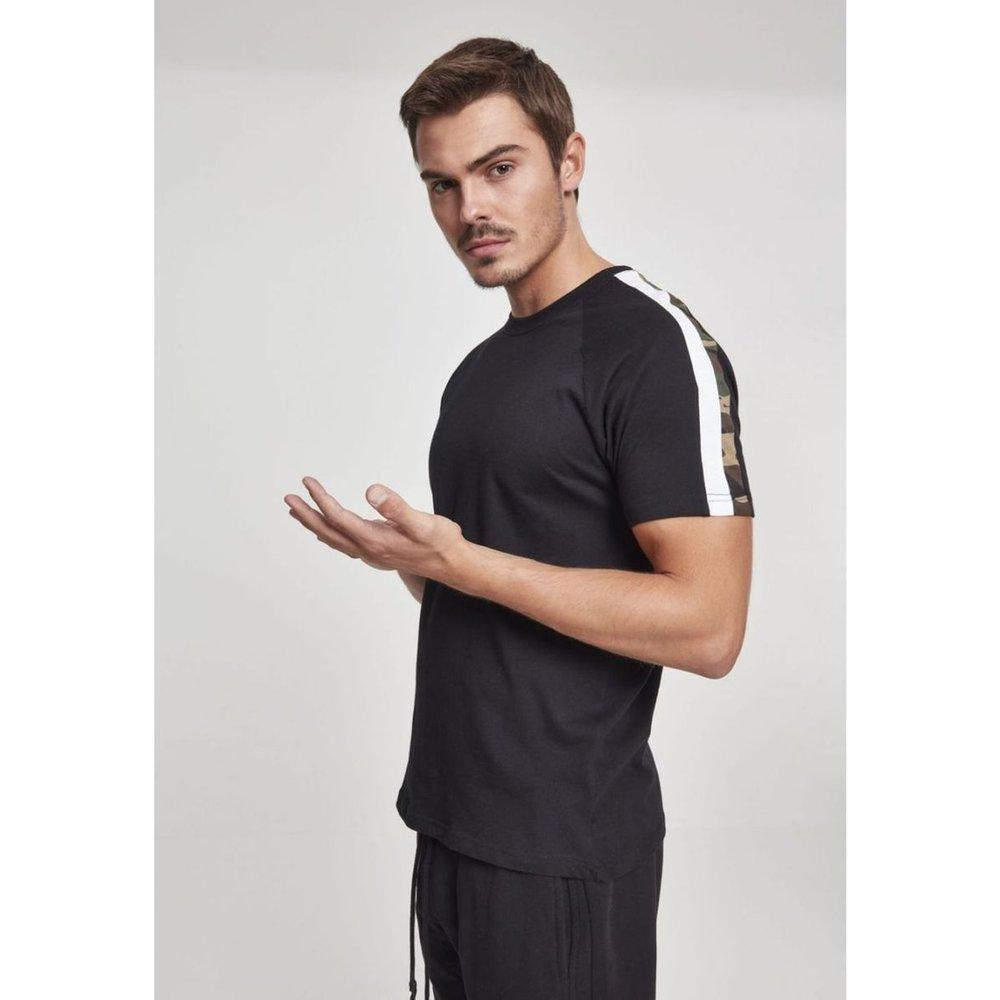T-shirt avec bandes - URBAN CLASSICS - Modalova