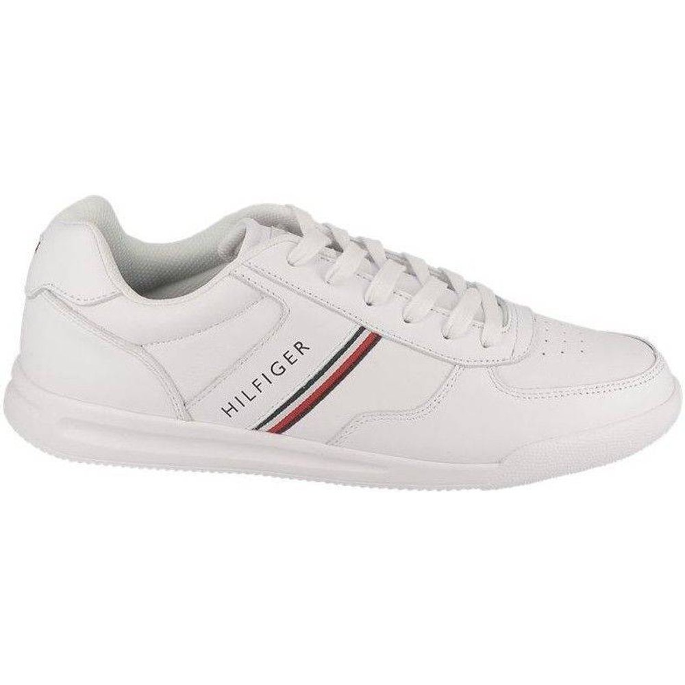 Basket mode LIGHTWEIGHT LEATHER SNEAKER - Tommy Hilfiger - Modalova