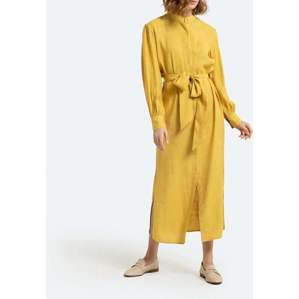 Robe chemise longue manches longues - LA REDOUTE COLLECTIONS - Modalova