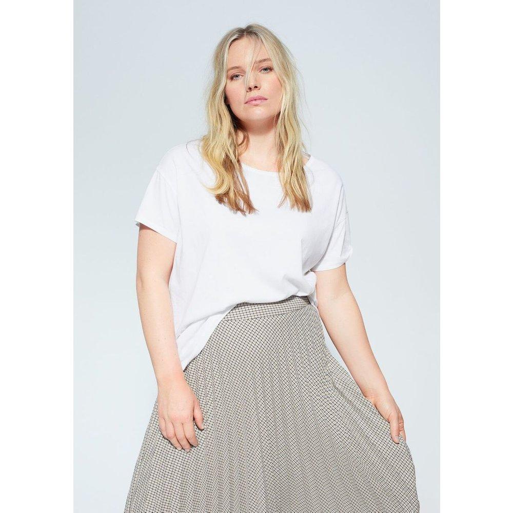 T-shirt basique coton bio - Violeta by Mango - Modalova