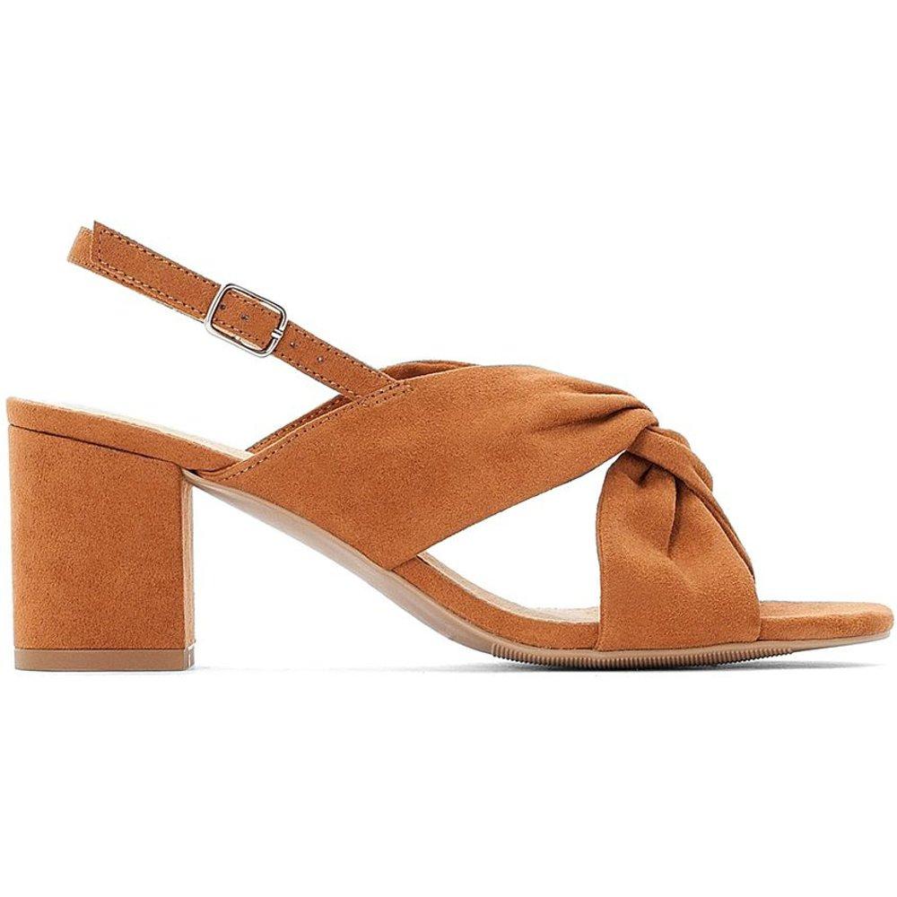 Sandales croisées à talon large - LA REDOUTE COLLECTIONS - Modalova