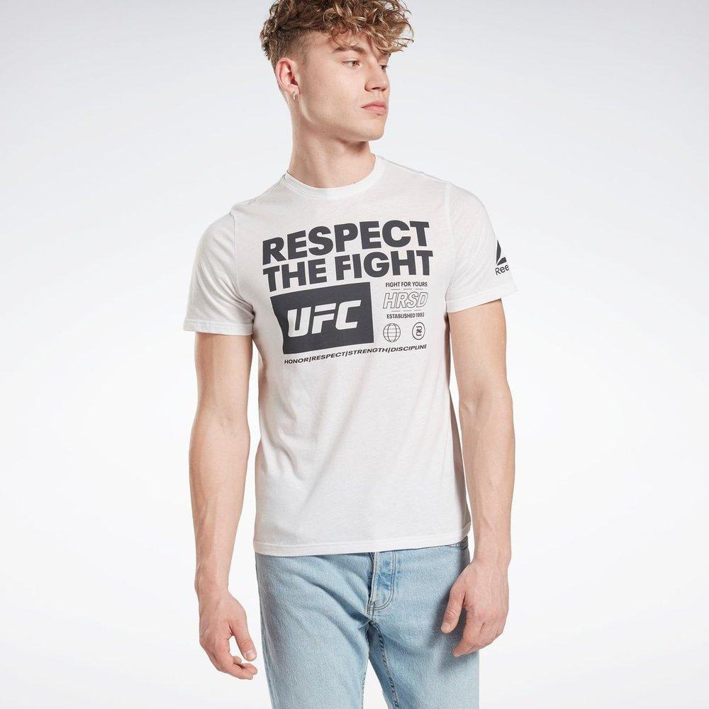 T-shirt avec imprimé UFC Fan Gear - REEBOK SPORT - Modalova