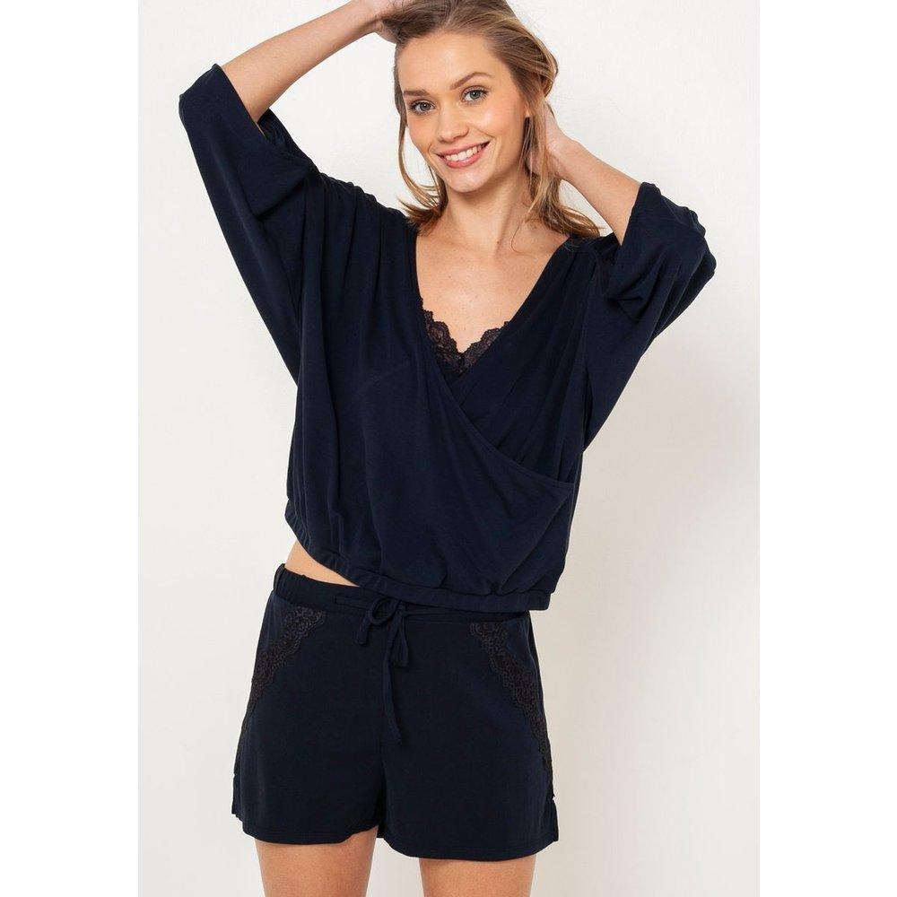 Bas de pyjama dentelle - CAMAIEU - Modalova