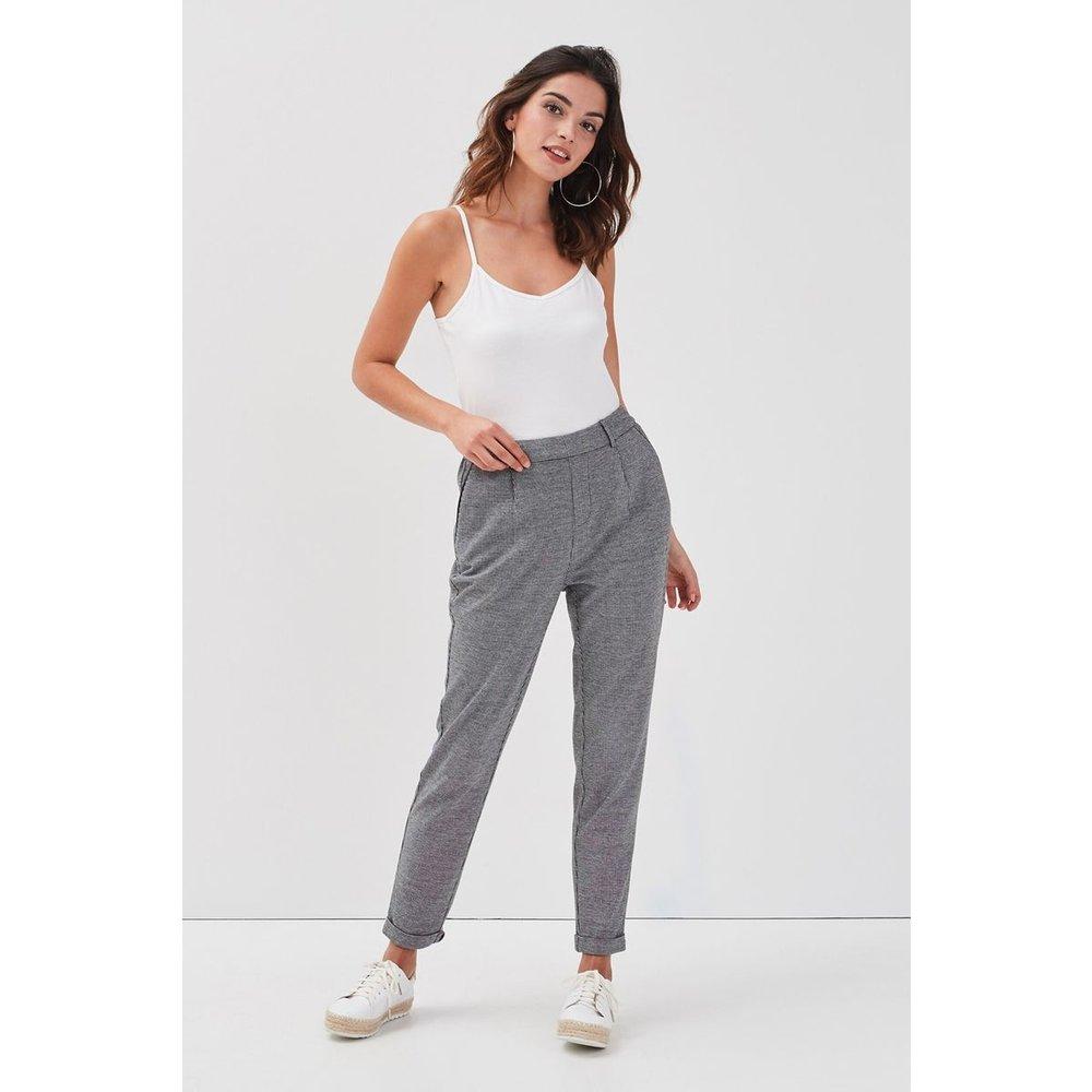 Pantalon droit taille haute - CACHE-CACHE - Modalova