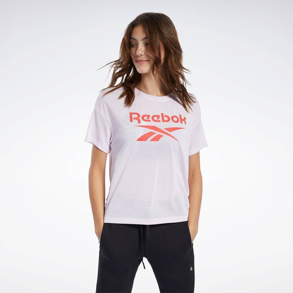 T-shirt Workout Ready Supremium Logo - REEBOK SPORT - Modalova