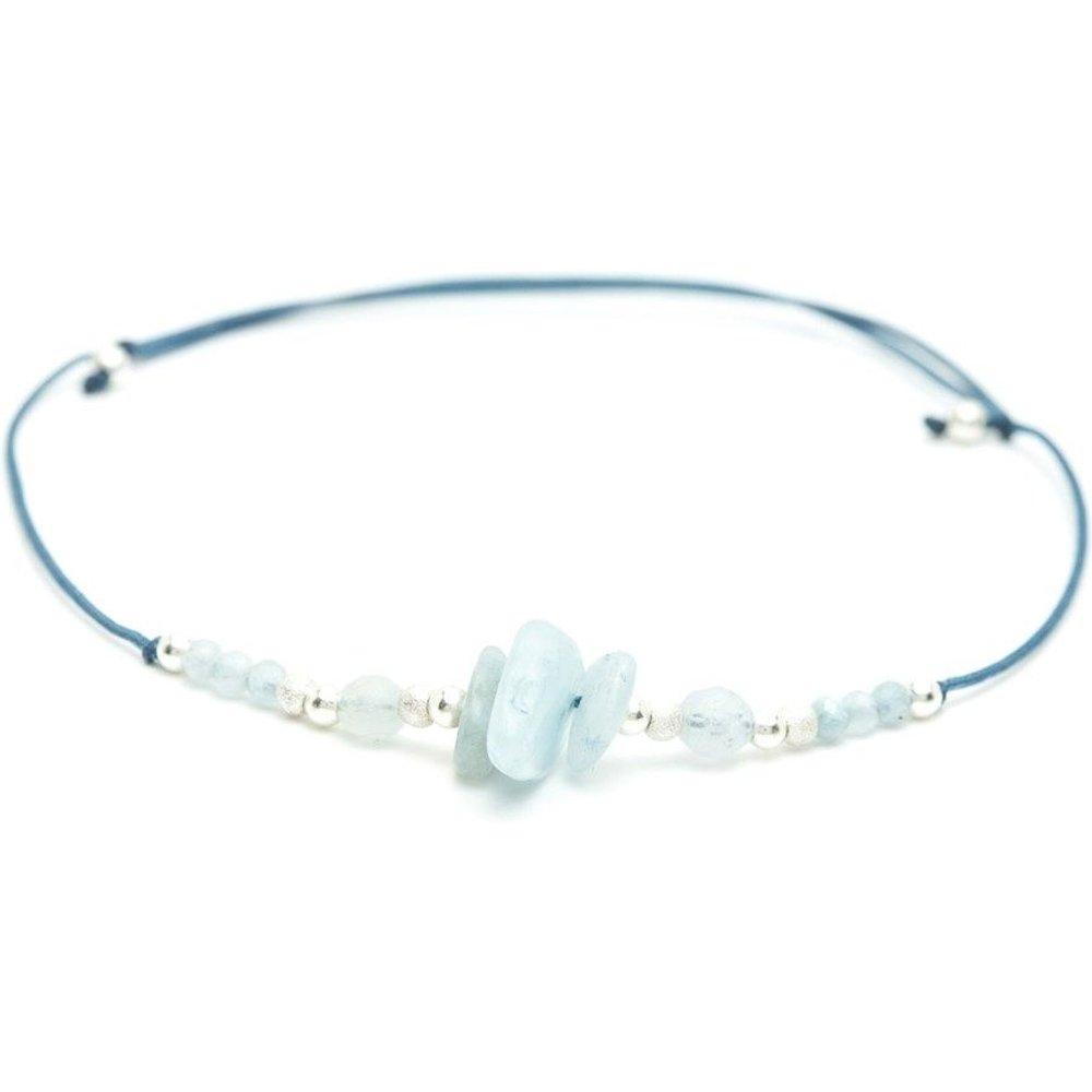 Bracelet cordon Argent 925 Bleu Cosmic - YAY- YOU ARE YOUNG - Modalova