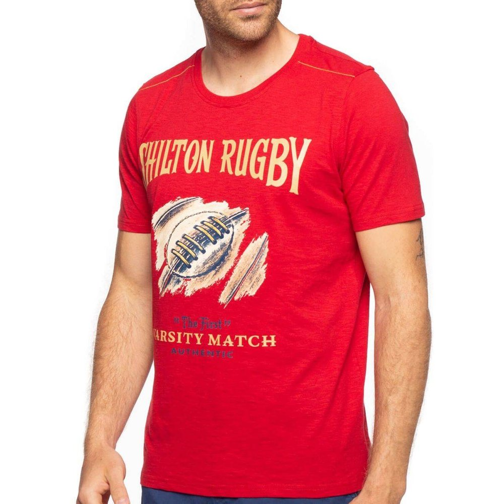 T-shirt varsity match - SHILTON - Modalova