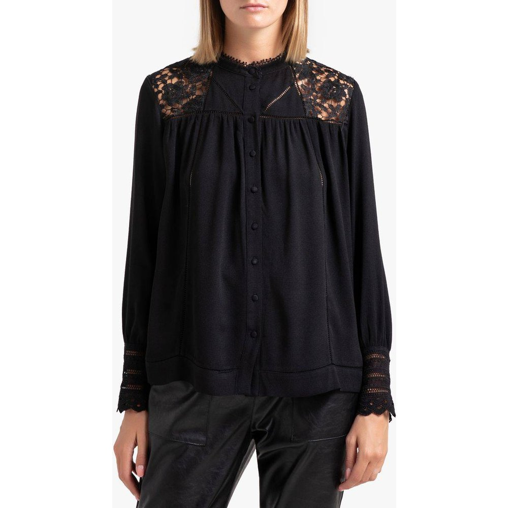 Chemise à manches longues avec dentelle LYNDSEY - Suncoo - Modalova
