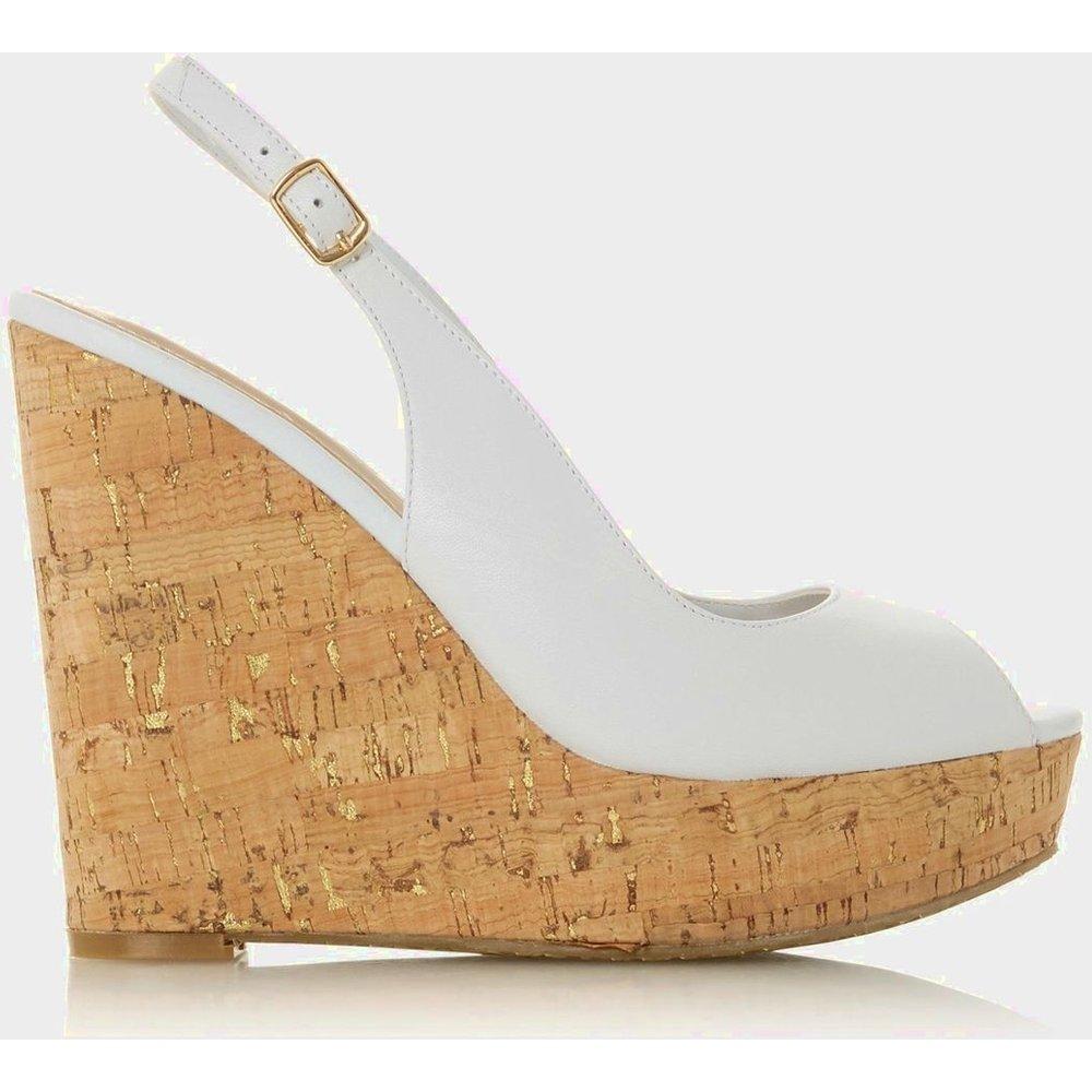 Sandales compensées à bride arrière - KIMMBER - DUNE LONDON - Modalova