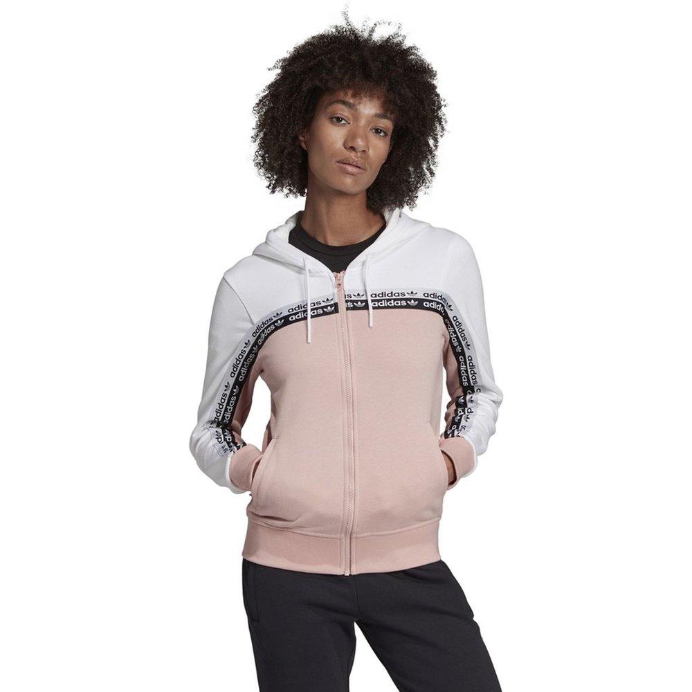 Sweat zippé à capuche bicolore - adidas Originals - Modalova