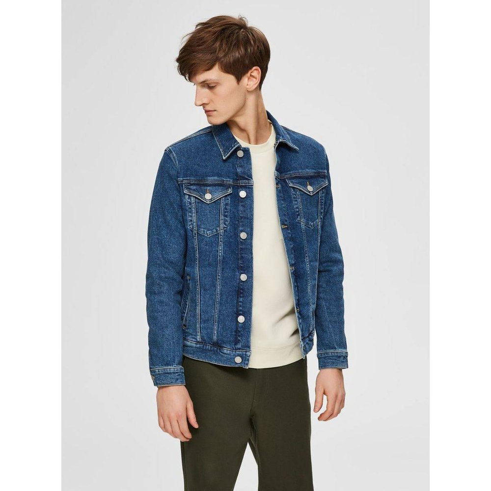 Veste en jean Stretch confortable  - Selected Homme - Modalova