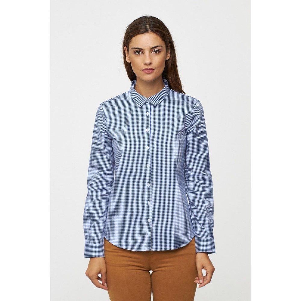 Chemise à carreaux en popeline - BEST MOUNTAIN - Modalova
