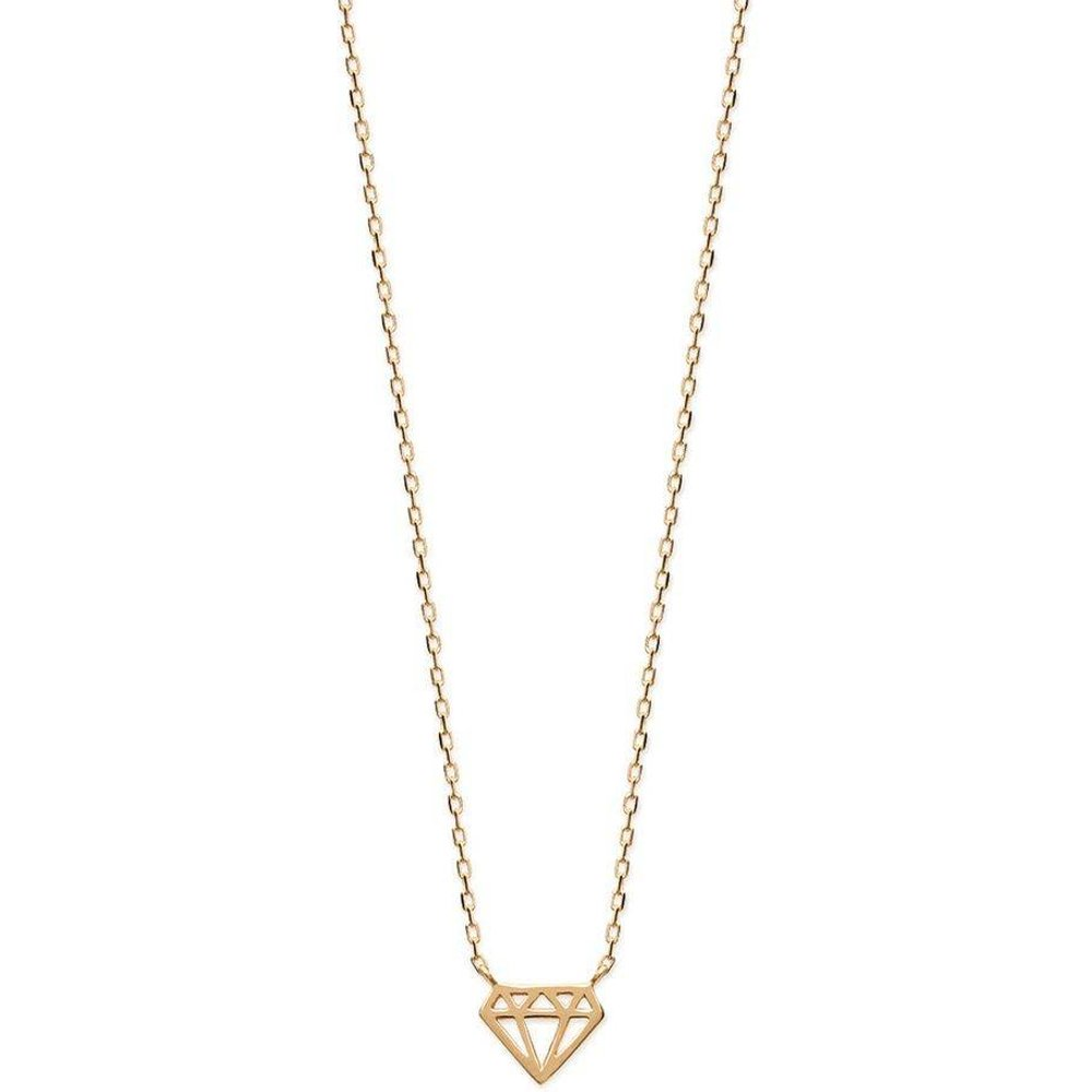Collier 'Diamant' Argent - LORENZO R - Modalova