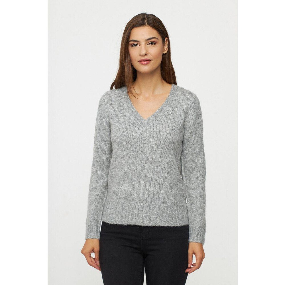 Pull lainé droit col V - BEST MOUNTAIN - Modalova