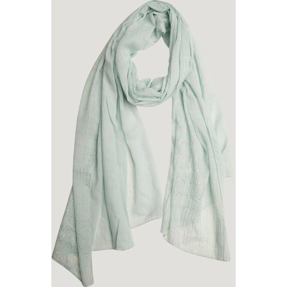 Foulard uni détail Fil textile - Naf Naf - Modalova