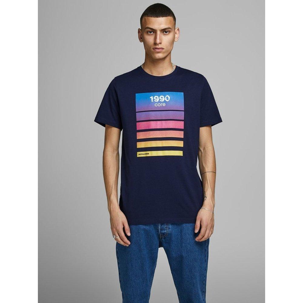 T-Shirt Imprimé bloc - jack & jones - Modalova