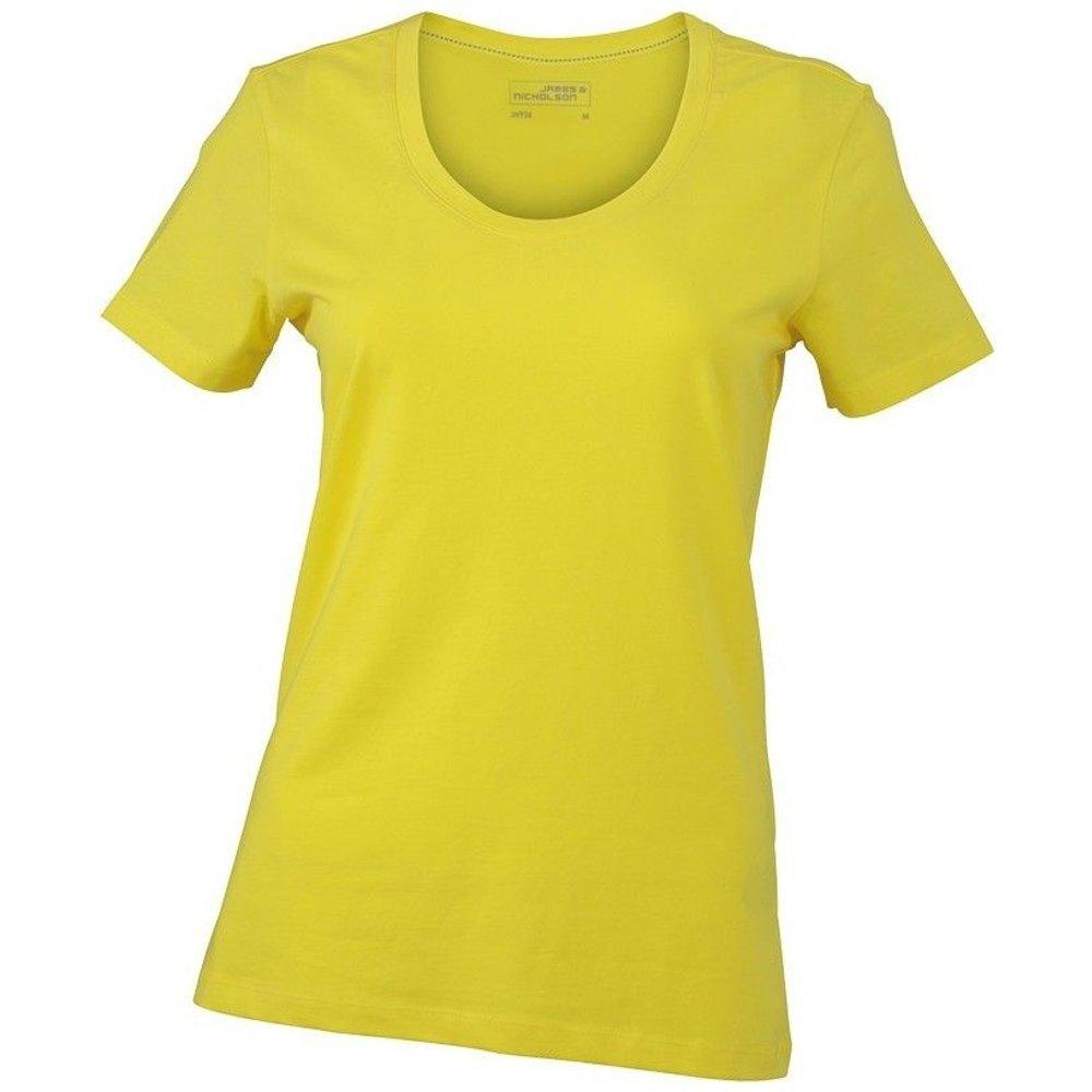 T-shirt col rond uni - JN - Modalova