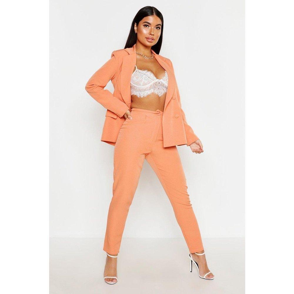 Pantalon carotte - BOOHOO PETITE - Modalova