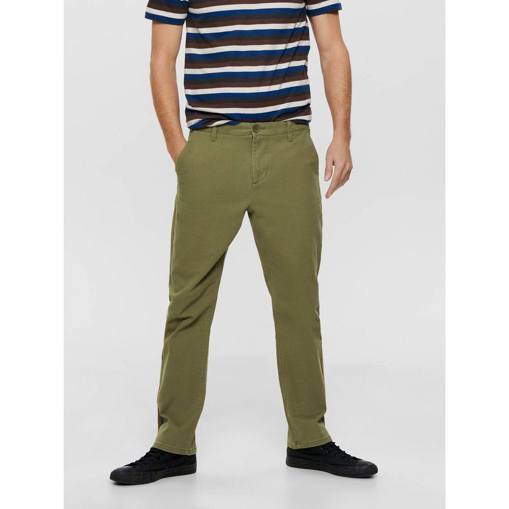 Chinos Couleur unie - Only & Sons - Modalova