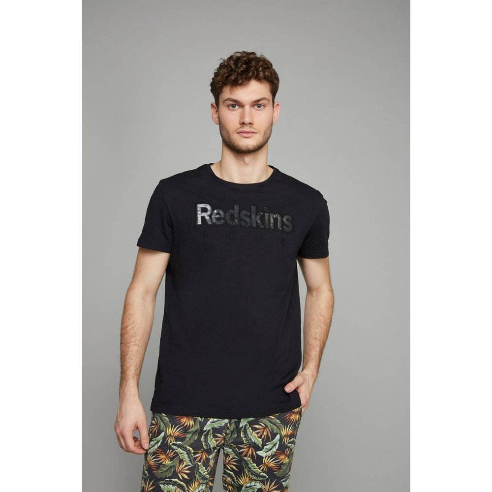 T-shirt col rond LEVEL FLAMES - REDSKINS - Modalova