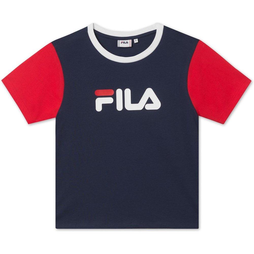 T-shirt col rond Salome en coton avec logo - Fila - Modalova