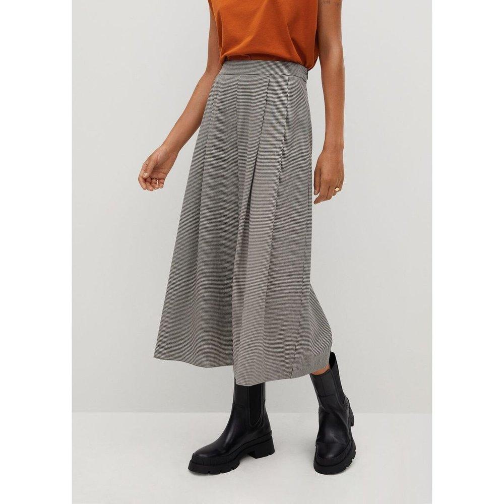 Jupe-culotte à pinces - Mango - Modalova