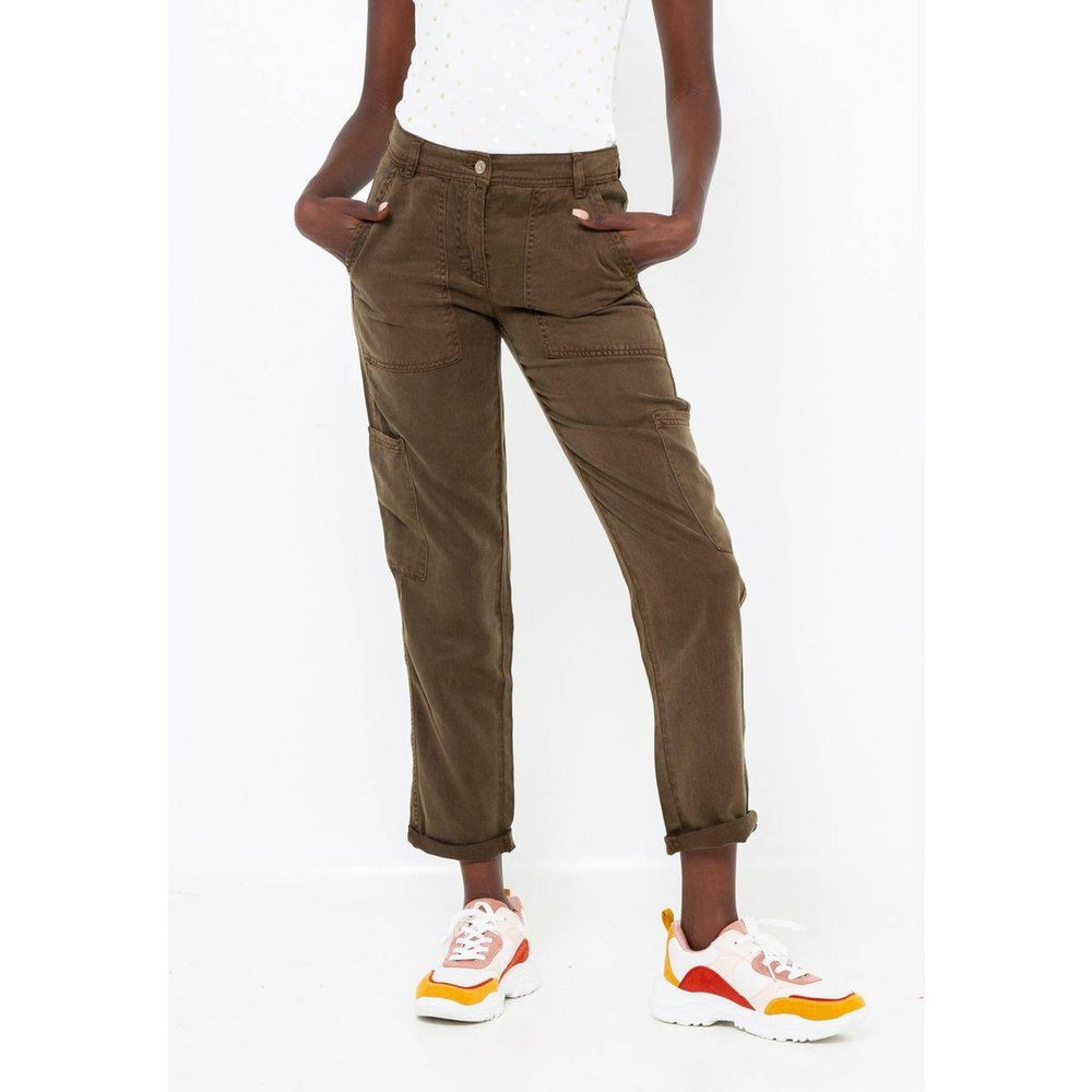 Pantalon chino - CAMAIEU - Modalova