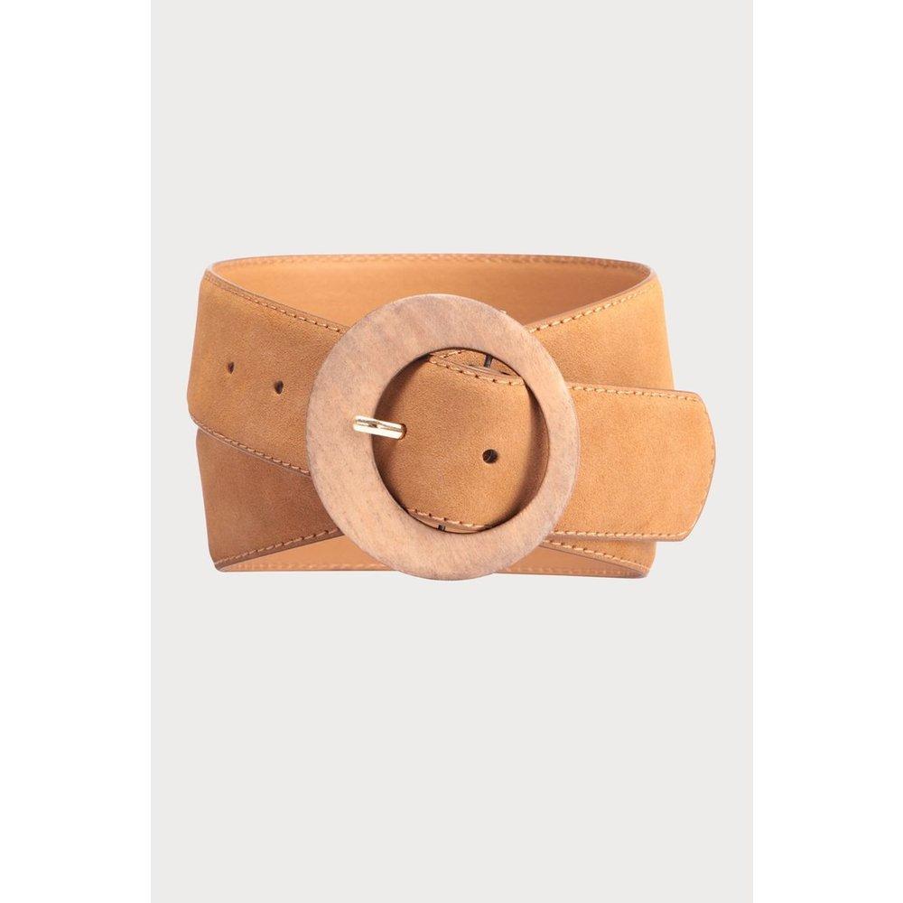 Ceinture boucle ronde - CACHE-CACHE - Modalova