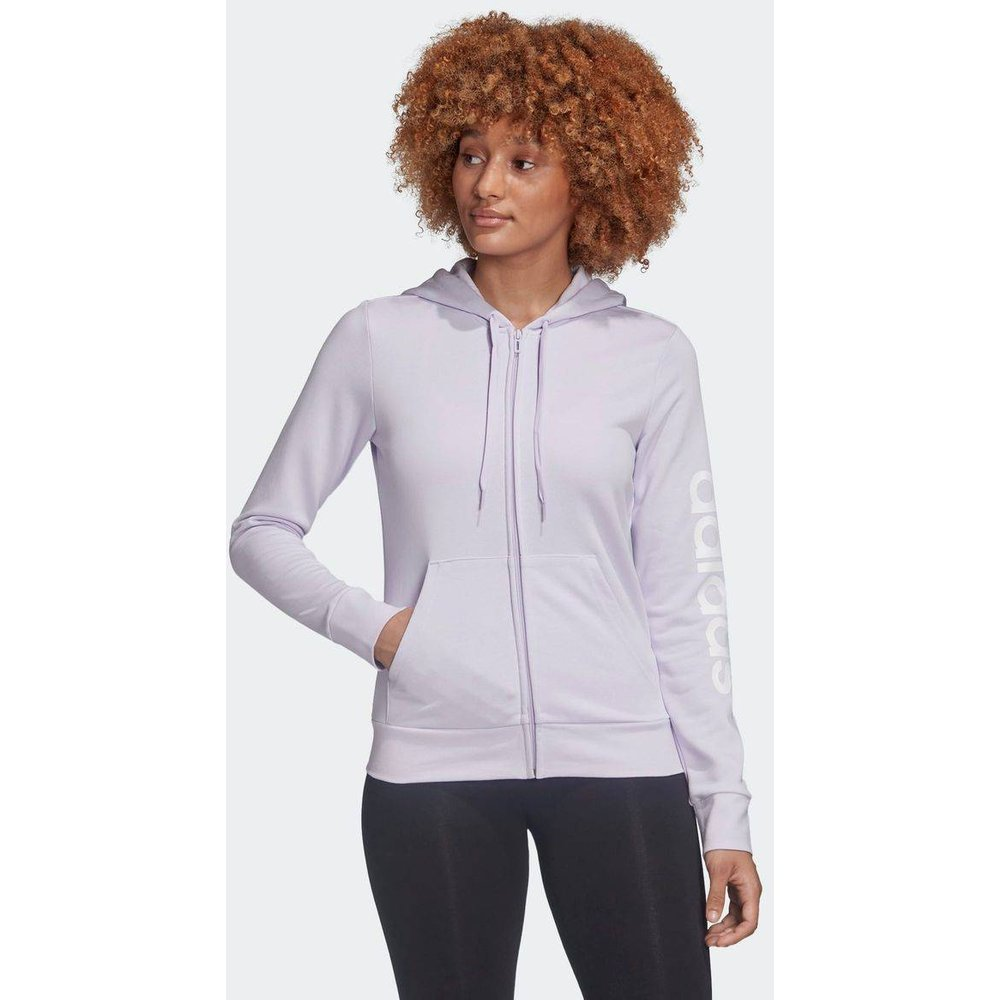 Veste à capuche Essentials Linear - adidas performance - Modalova