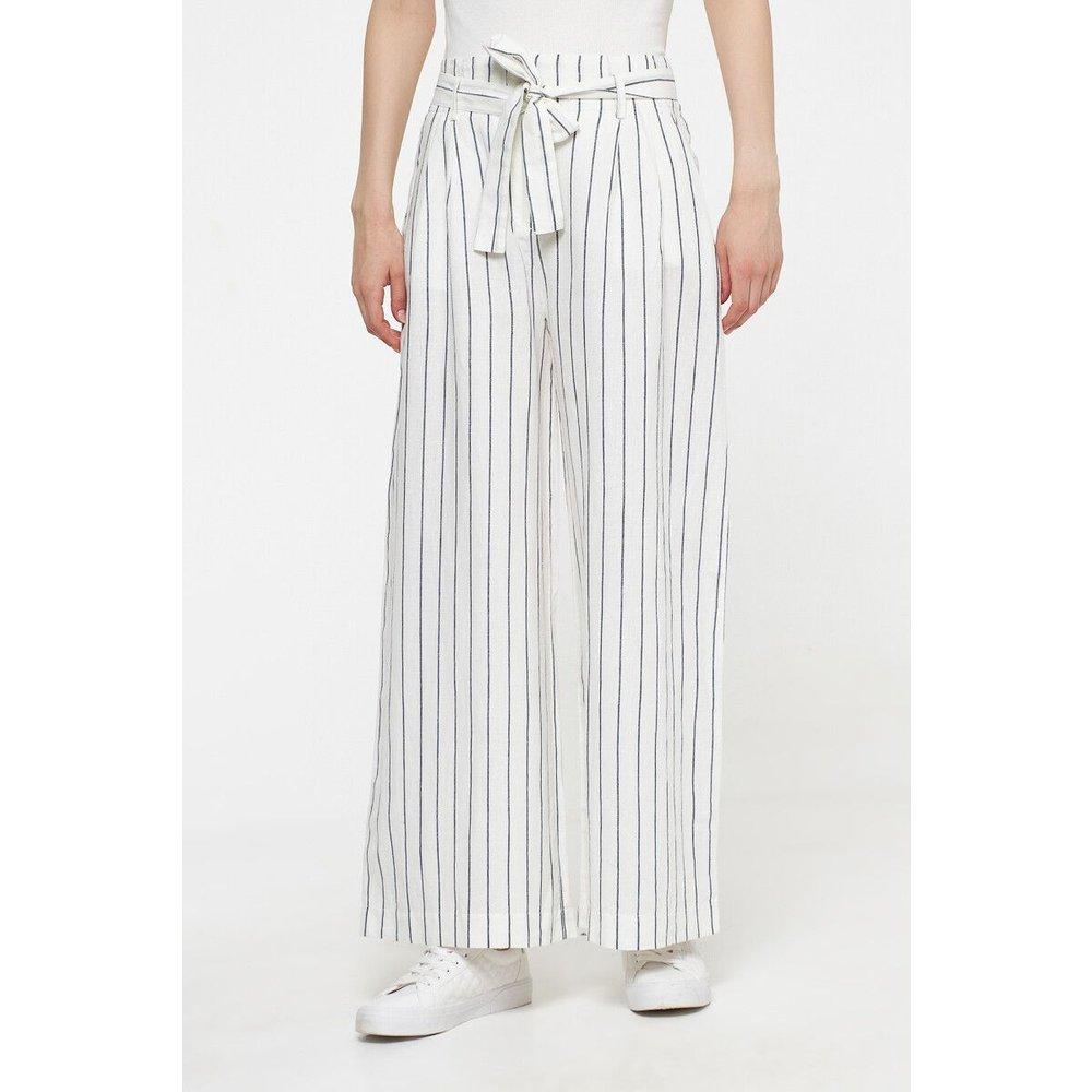 Pantalon large en lin et coton - BEST MOUNTAIN - Modalova