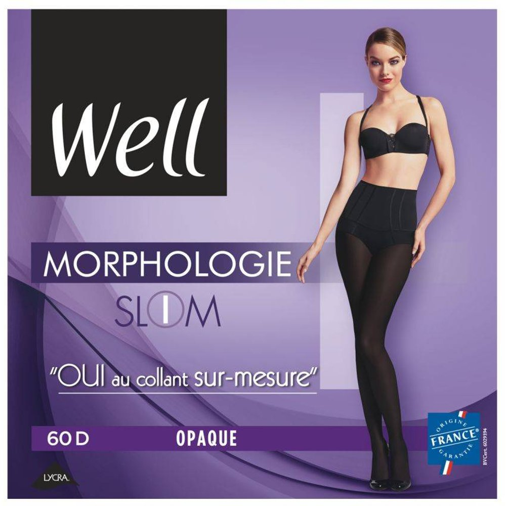 Collant Opaque Morphologie 60D - WELL - Modalova