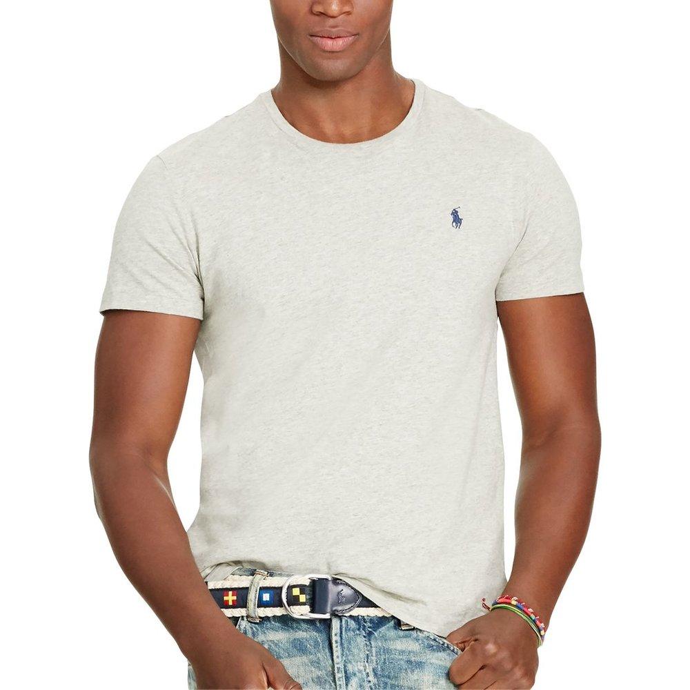 T-shirt col rond en jersey de coton - Polo Ralph Lauren - Modalova