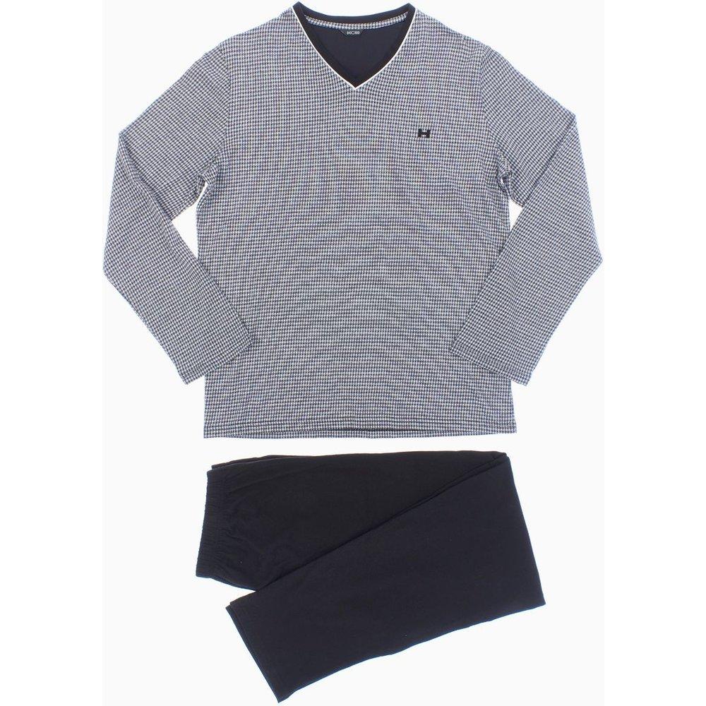 Pyjama long coton Vichy - HOM - Modalova