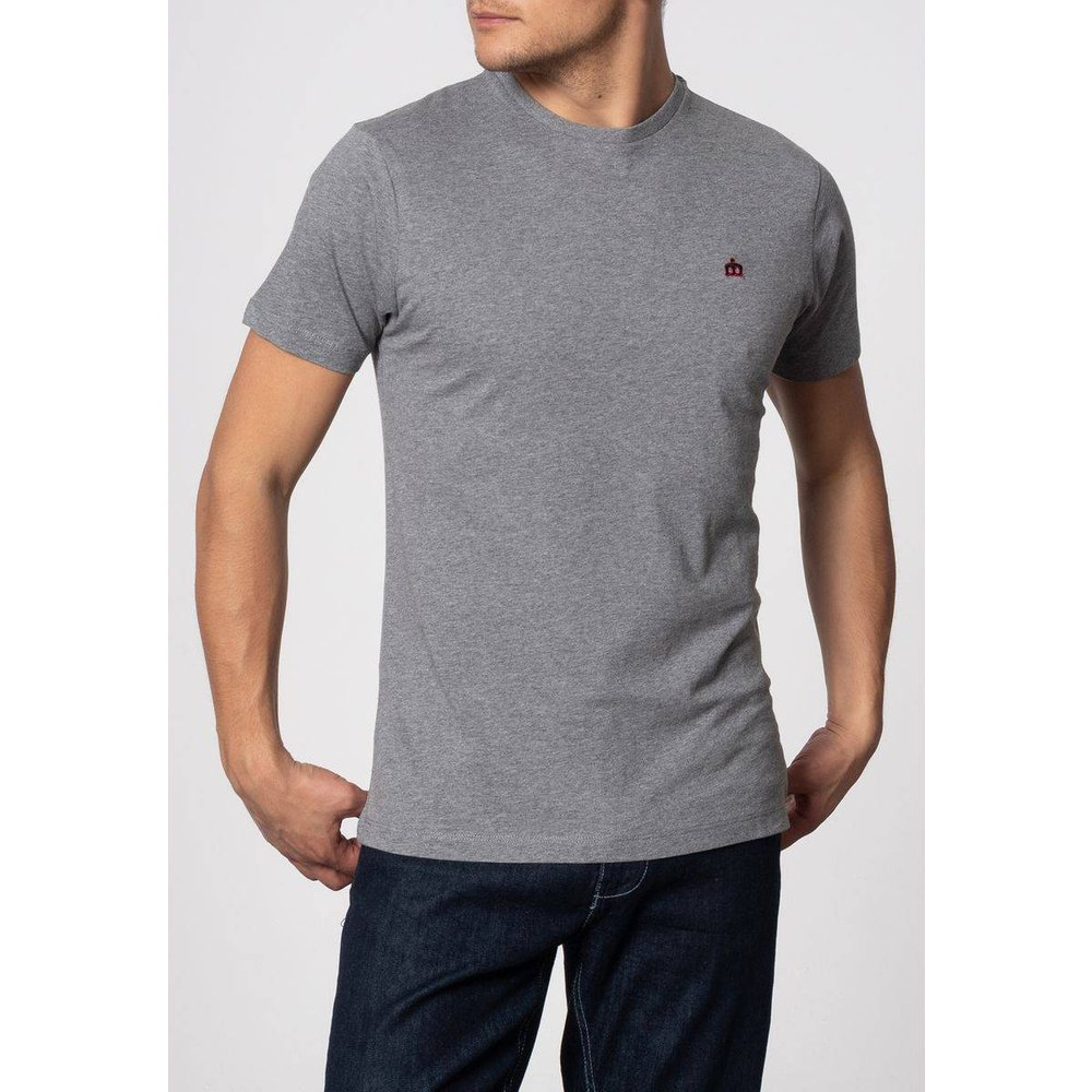 T-shirt basique uni KEYPORT - MERC LONDON - Modalova