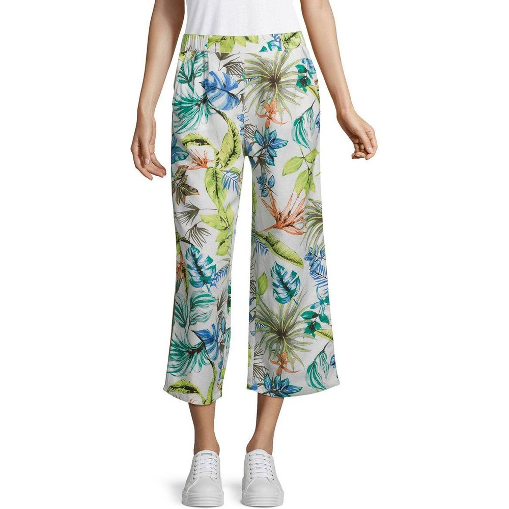Pantalon en lin - Betty Barclay - Modalova