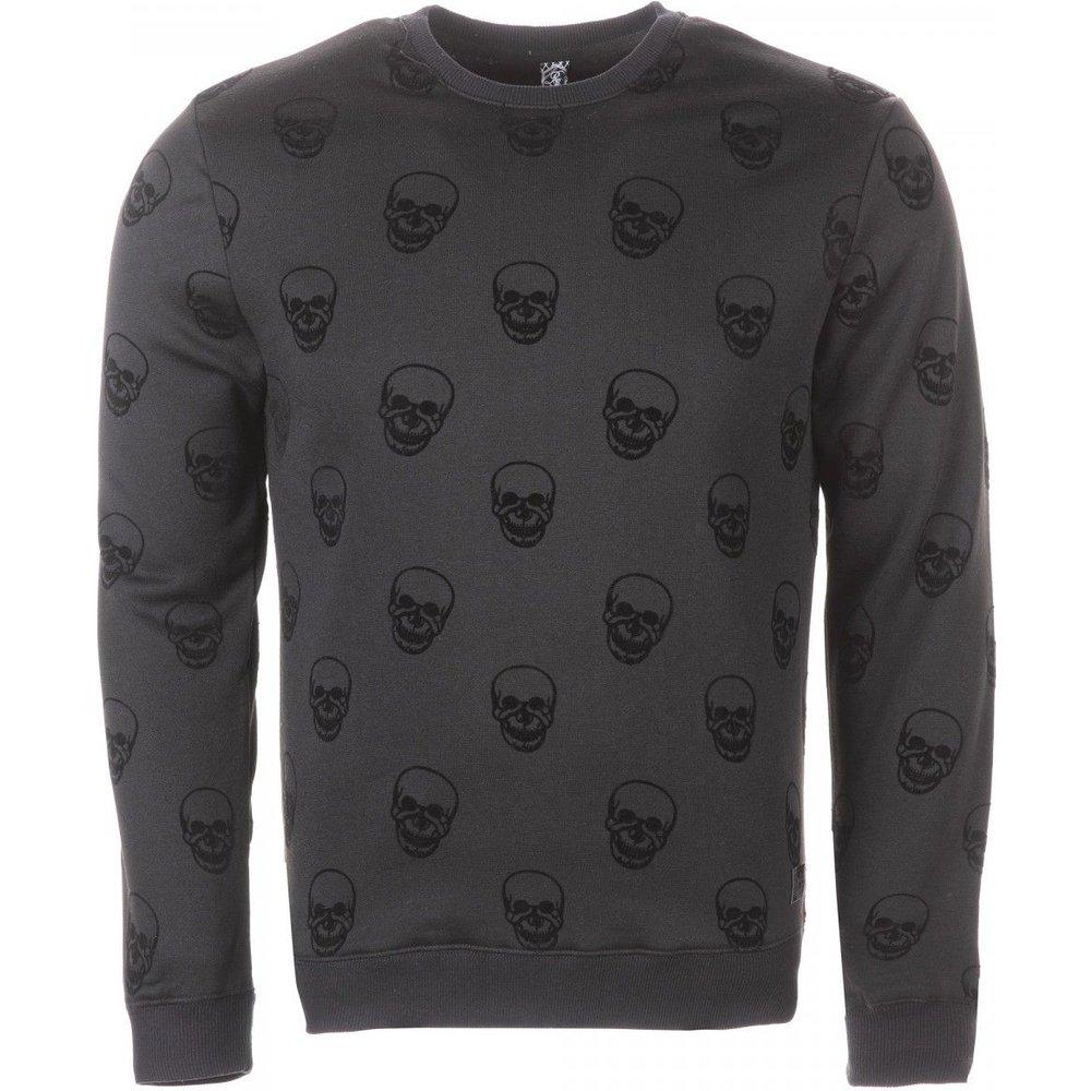 Sweat-shirt col rond coton Homme - RIVALDI - Modalova