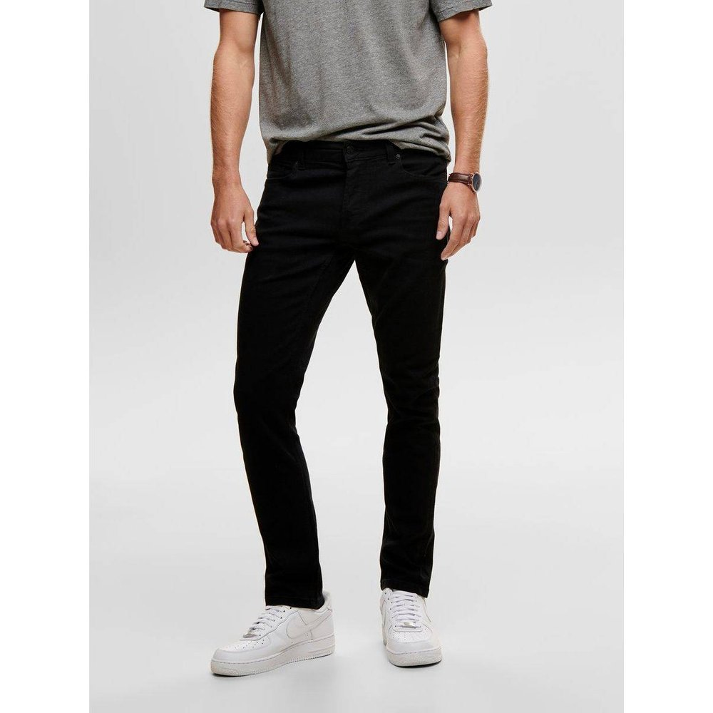 Jean slim ONSLoom black - ONLY ET SONS - Modalova