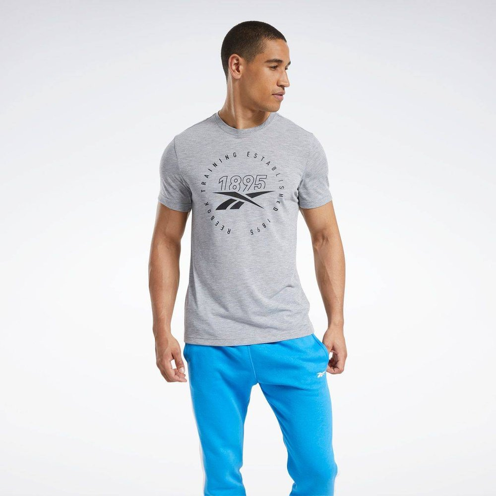 T-shirt imprimé Series Speedwick - REEBOK SPORT - Modalova