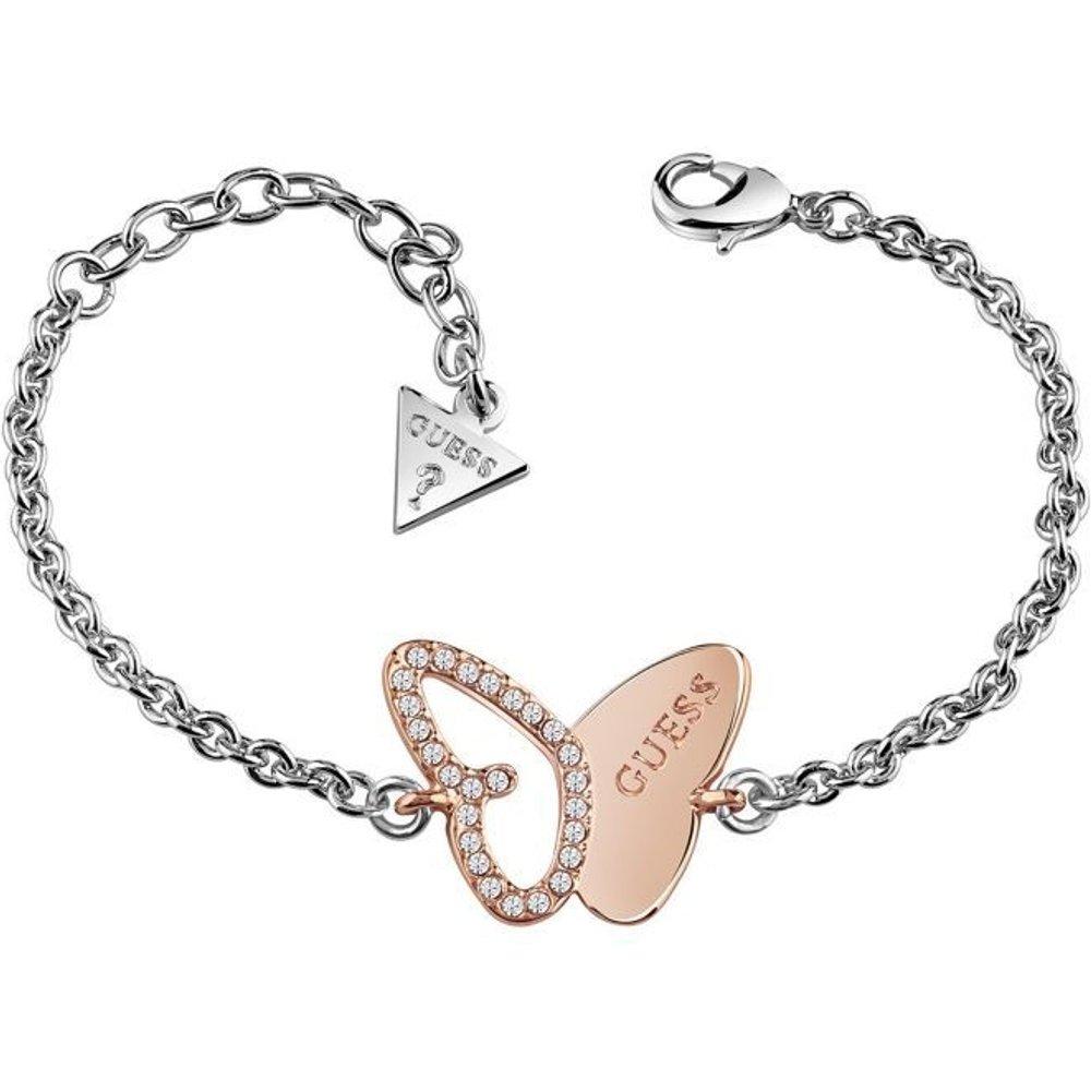 Bracelet Mariposa Papillon Plaque D? - Guess - Modalova