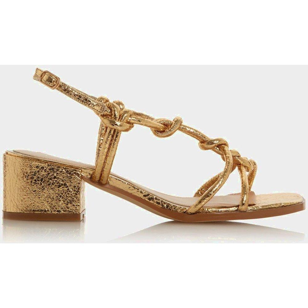 Chaussures à talons carrés nouées - JIJI - Head Over Heels by Dune - Modalova