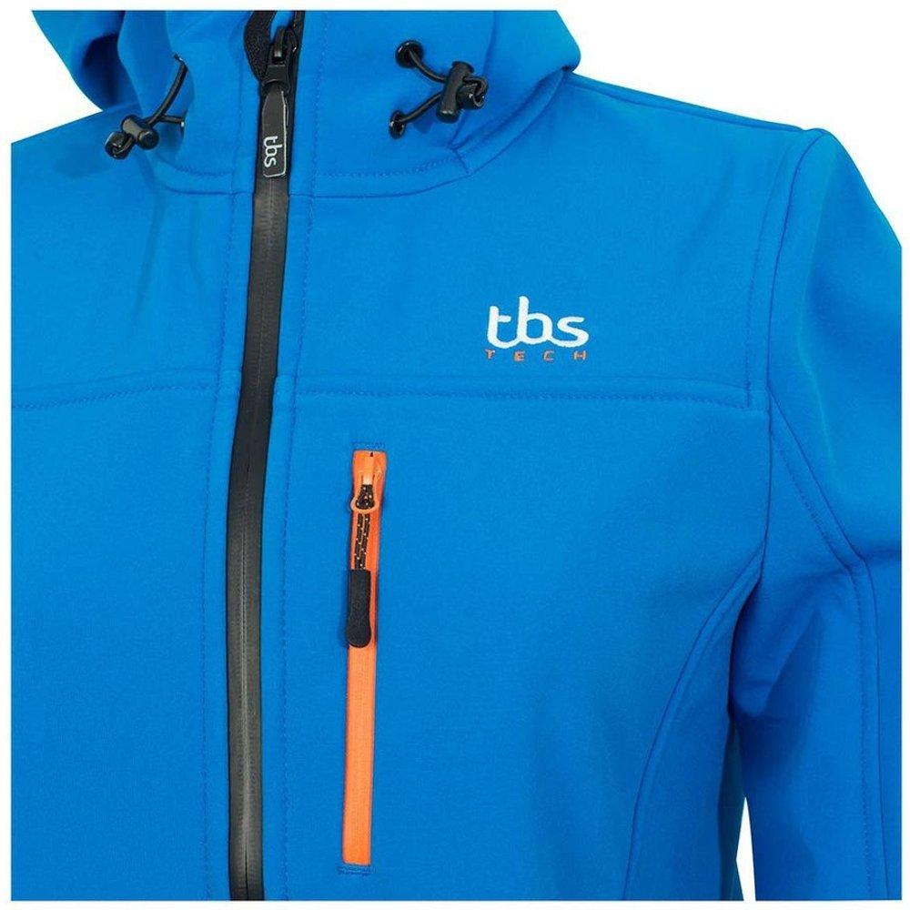 Veste coupe-vent imperméable à capuche URSOFT - TBS - Modalova